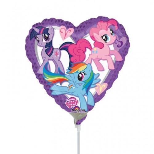 My Little Pony balloon on a stick
