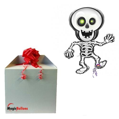Dancing Skeleton in the box