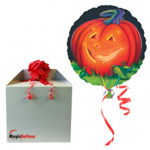 Glowing Pumpkin in the box