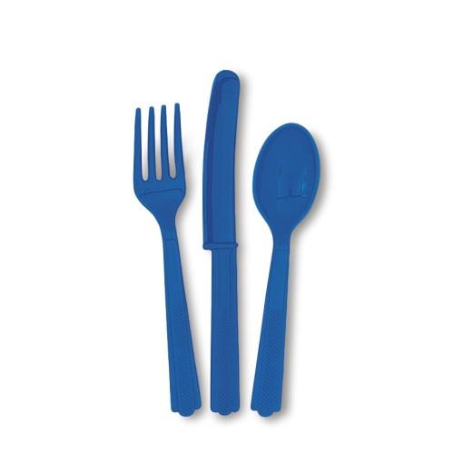 Cutlery - Burgundy