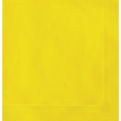 Beverage napkins - White