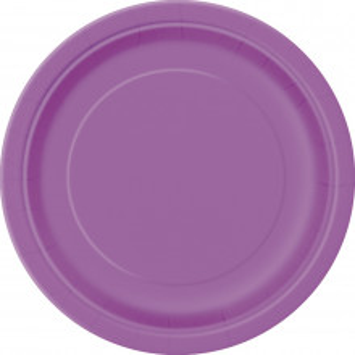 "Plates 7"" - Gold 20 pcs"