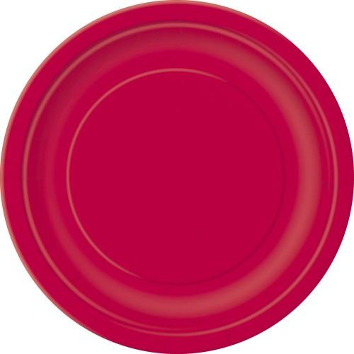 Krožniki 23cm - vijolična 8 kom