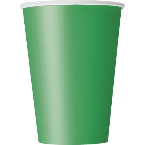 Kozarčki 360 ml - vijolična 10 kom
