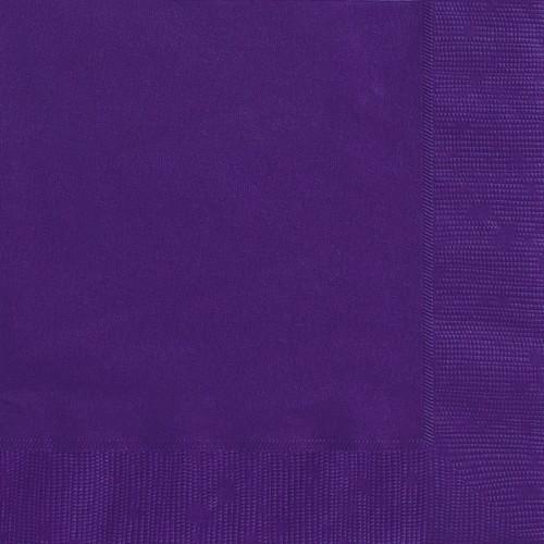 Luncheon napkins - Pretty Purple