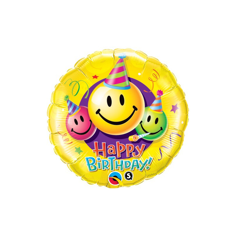Magicballons Alles Fur Den Geburtstag Birthday Smiley Faces