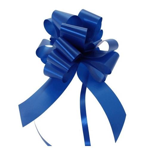 Pull bow royal blue 3 cm