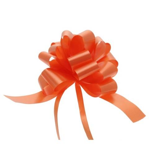 Orange Schleifen 3 cm
