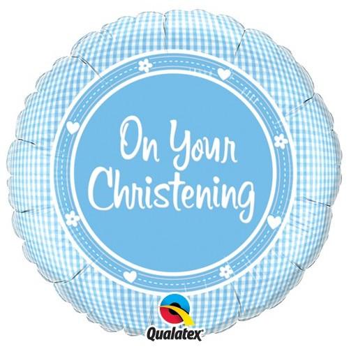 On Your Christening Boy - folija balon
