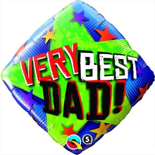 Very Best Dad Stars - folija balon