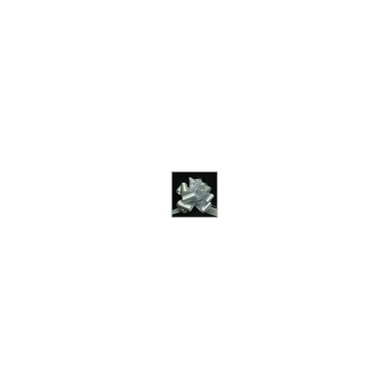 srebrne mašne 3cm