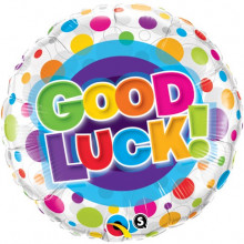 Good Luck Colourful Dots
