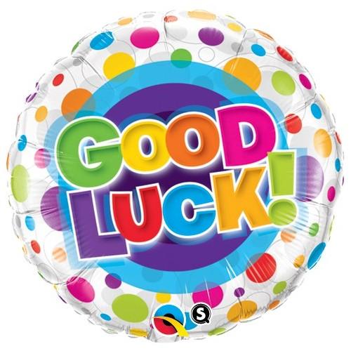 Good Luck Colourful Dots - folija balon