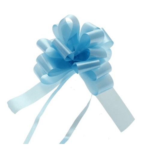 Pull bow light blue  3cm