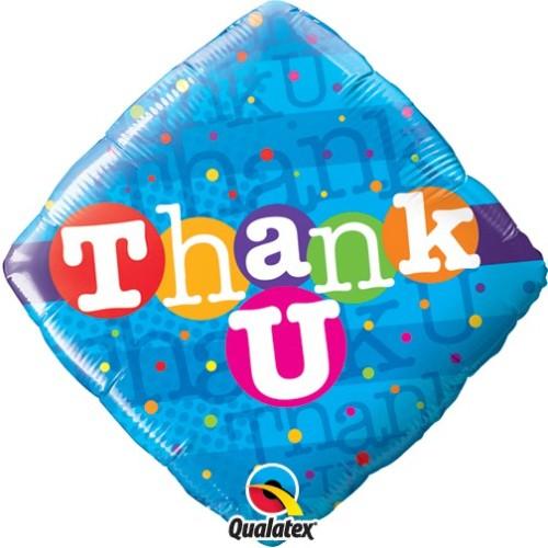 Thank You Colourful Dots - folija balon