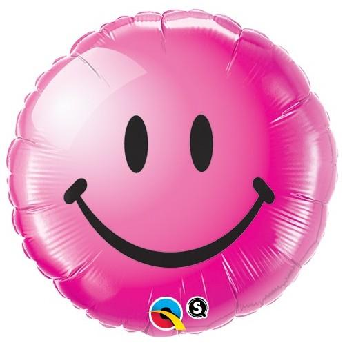 Smile Face Wild Berry - folija balon