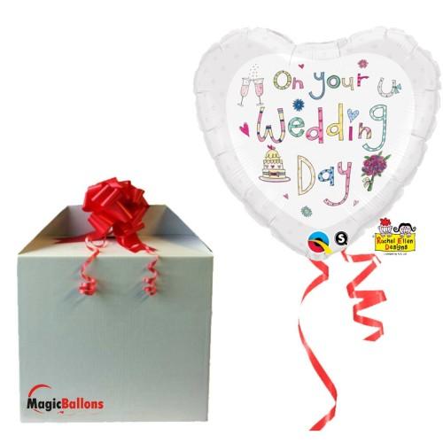 Rachel Ellen On Your Wedding Day folija balon v paketu