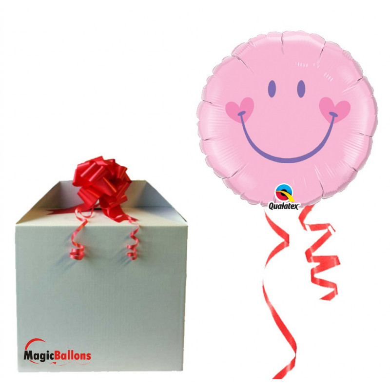 Sweet Smile Face Pink in a box