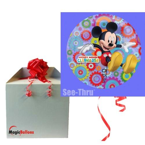 Princesses See-Thru - Folienballon in Paket