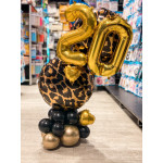 Balloons for 20th birthday
