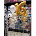 Balloons for 16th birthday