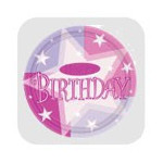 MagicBallons- Birthday Party- Pink shimmer party
