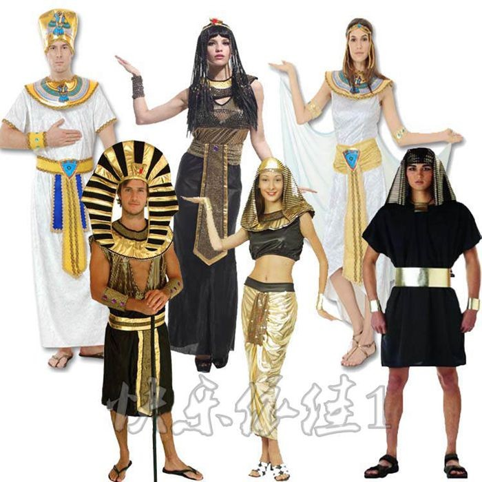 Egyptian and Greek Costumes