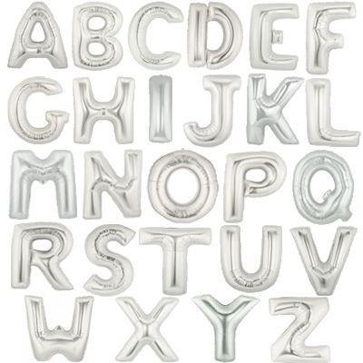 Foil balloon letters