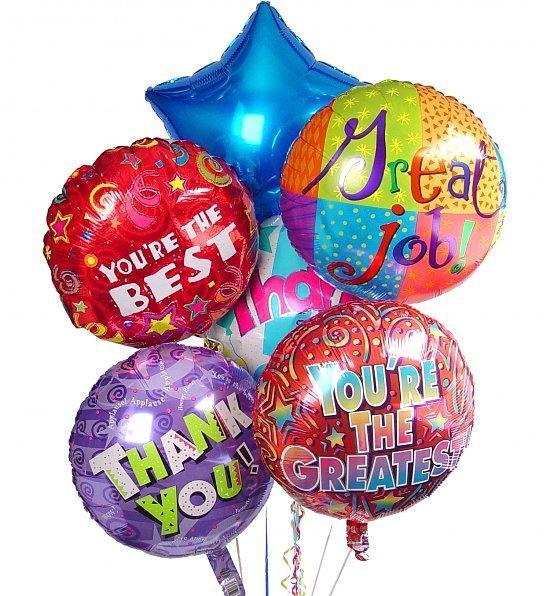 Napihnjeni helij baloni