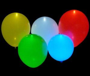 Baloni z LED lučko