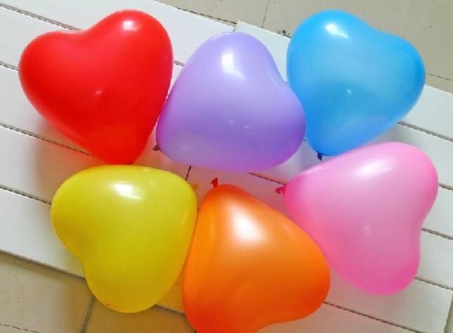 """Balloon heart - 6"""""""