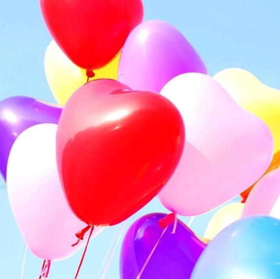 """Balloon heart - 11"""""""