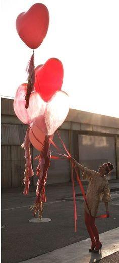Balloon heart - 3'